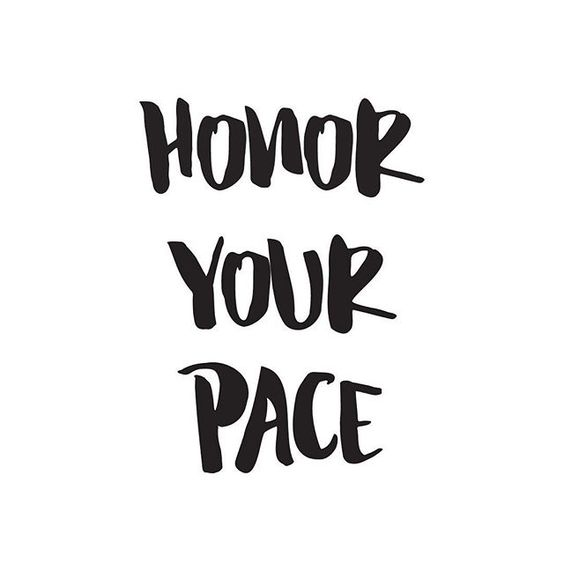 honoryourpace